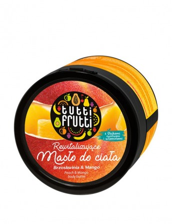 FARMONA Tutti Frutti Peach and Mango body butter