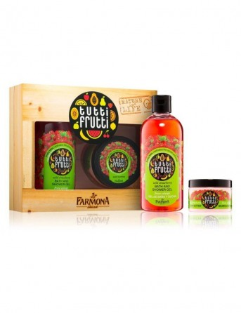 FARMONA Tutti Frutti SET Wild Strawberry shower...