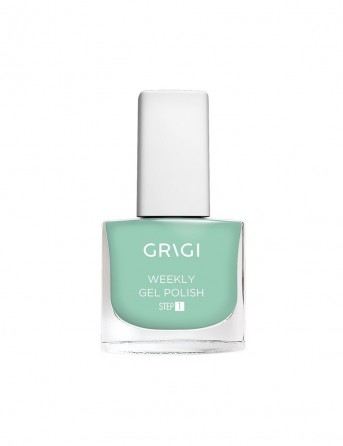 Grigi Weekly Gel Nail Polish-569 Sparkly Sea Green