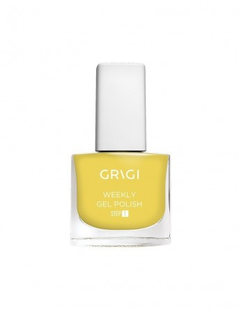 Grigi Weekly Gel Nail Polish-584 Metallic Yellow