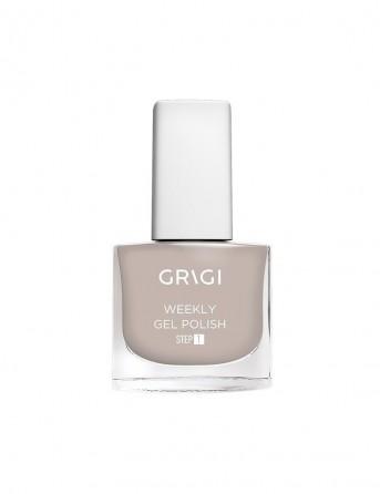 Grigi Weekly Gel Nail Polish-611 Dark Grey Nude