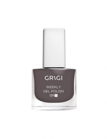 Grigi Weekly Gel Nail Polish-613 Chocolate Grey