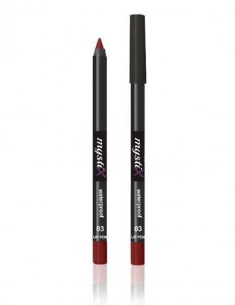 MystiX Waterproof Lip Pencil No 03 (red velvet)