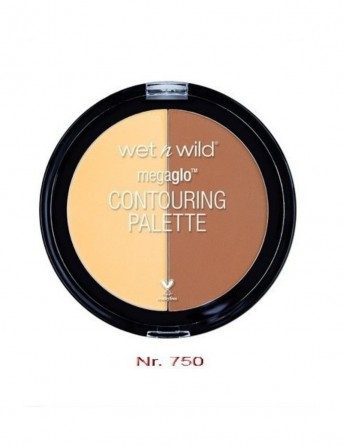 W&W Megaglo Contouring Palette - Caramel Toffee...