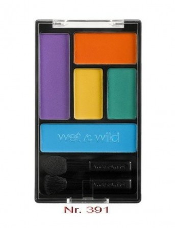 W&W Coloricon Eyeshadow Palette 5 Pan - Art In...