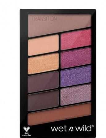 W&W Color Icon 10 Pan Palette - E761B V.I.Purple
