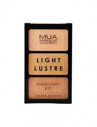 MUA Light Lustre Trio Highlight - Golden Delights