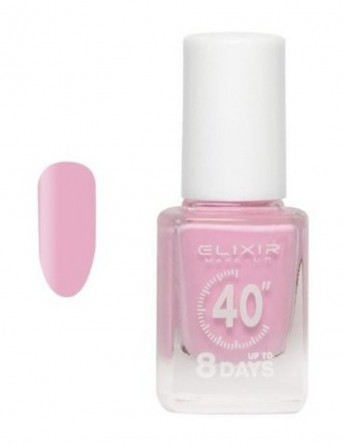 ELIXIR Βερνίκι 40 Up To 8 Days 133 (baby Pink)
