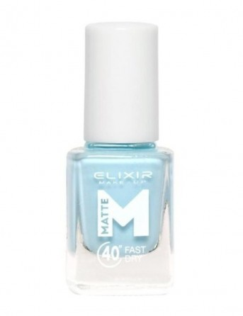 Βερνίκι Matte 40 Up To 8 Days M23 (alice Blue)