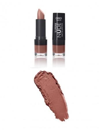 Grigi Make-up Superb Nude Matte Lipstick -...