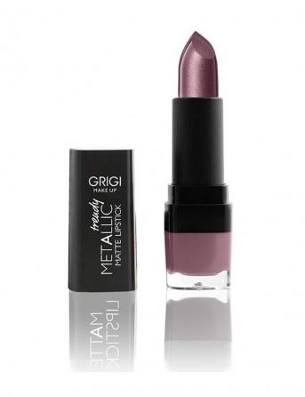 Grigi Make-up Trendy Metallic Matte Lipstick -...