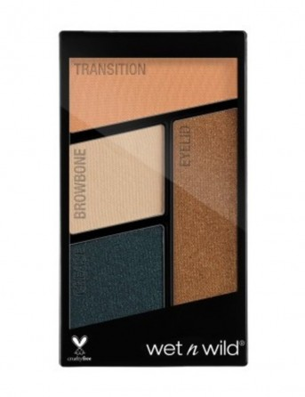 W&W Color Icon Eyeshadow Quads - Nr 343 -...