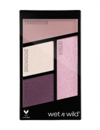 W&W Color Icon Eyeshadow Quads - Nr 344 -...