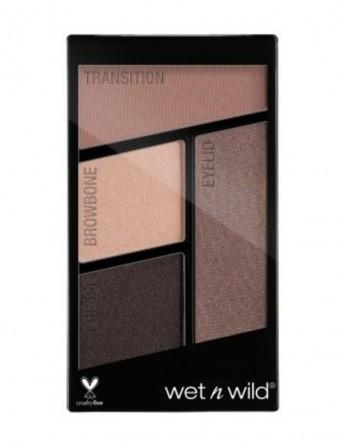 W&W Color Icon Eyeshadow Quads - Nr 337 -...