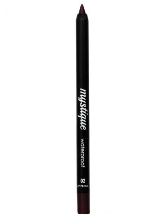 Mystique Waterproof Lip Pencil No 02 (purple ruby)