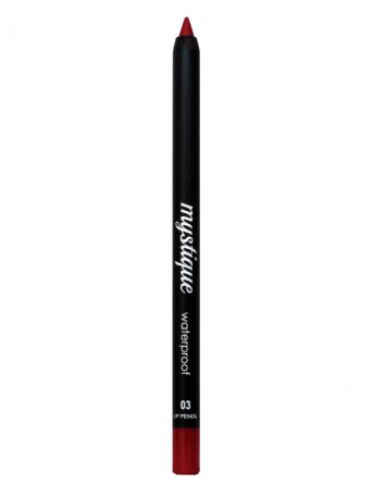 Mystique Waterproof Lip Pencil No 03 (red velvet)
