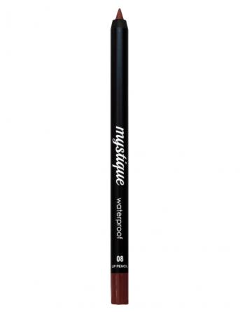 Mystique Waterproof Lip Pencil No 08 (rebel moka)