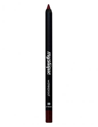 Mystique Waterproof Lip Pencil No 09 (red wine)