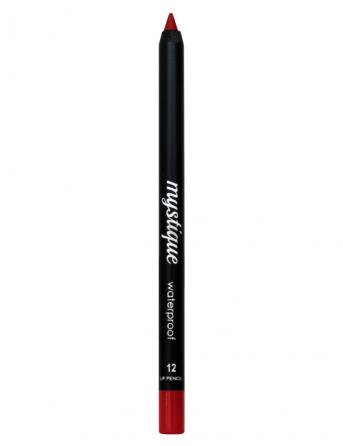 Mystique Waterproof Lip Pencil No 12 (light red)