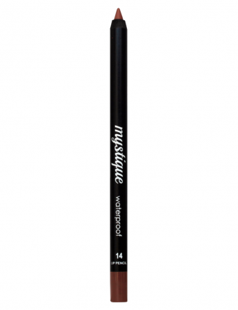 Mystique Waterproof Lip Pencil No 14 (sweet coffe)