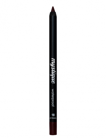 Mystique Waterproof Lip Pencil No 18 (kinky kiss)