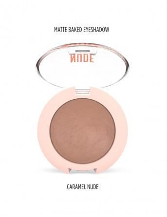 GR Nude Look Matte Baked Eyeshadow -03 (Caramel...