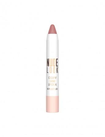 GR Nude Look Creamy Shine Lipstick-03(Peachy nude)