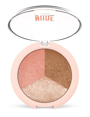 GR Nude Look Baked Trio Face Powder