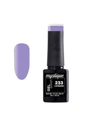 Ημιμόνιμο Βερνίκι 5ml - Gel Polish 233 lavender