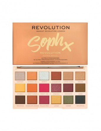 MAKE UP REVOLUTION X SOPH EXTRA SPICE PALLETE