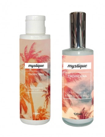 Set Body Lotion + Hair-Body Mist Mystique...