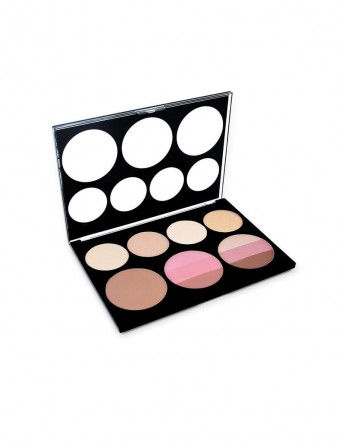 ELIXIR Pro. Blush & Highlighter Palette 835